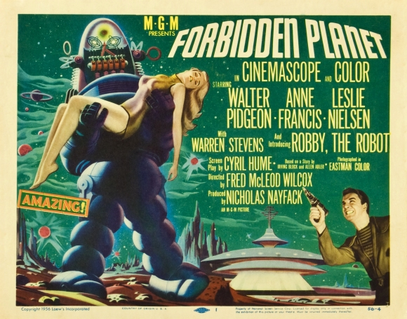 Poster - Forbidden Planet_03